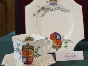 1410 Eileen's cup saucer plate